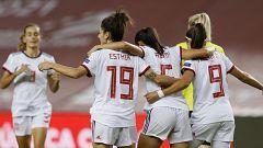 España golea a República Checa (4-0) y acaricia la Euro 2022