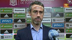"""Vilda: """"Es un buen día para la selección española"""""""