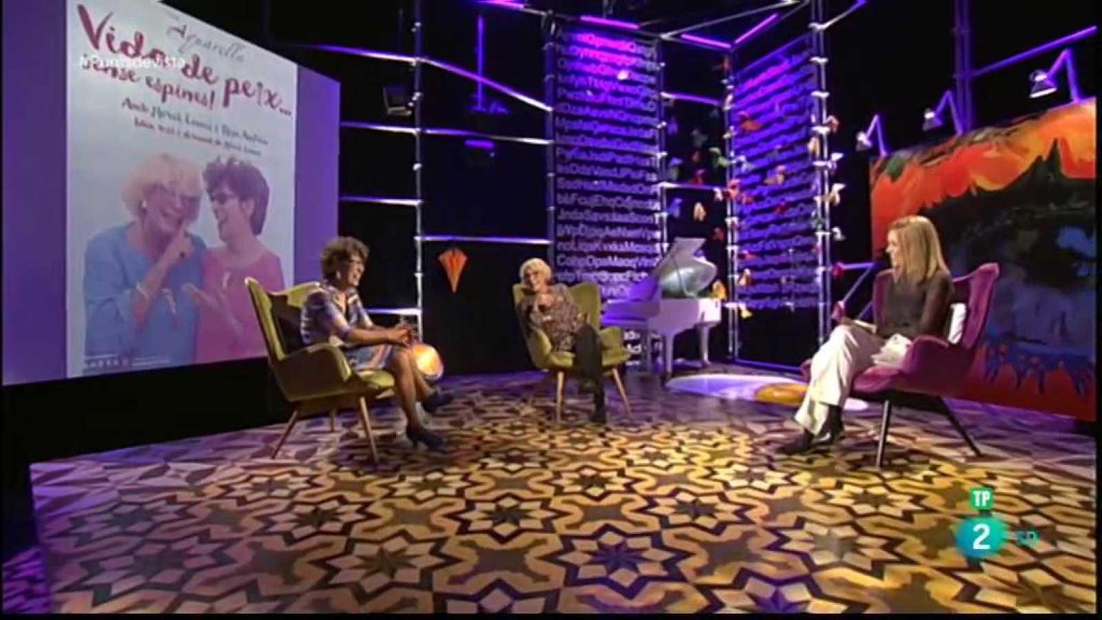 El Ballet de Barcelona, les actrius Mercè Comes i Rosa Andreu, i la sèrie policial 'Antidisturbios' a Punts de vista