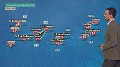El tiempo en Canarias - 24/10/2020
