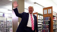 Trump ejerce el voto anticipado en Florida a diez días de las elecciones