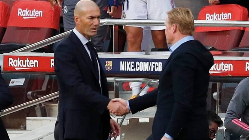Koeman carga contra el VAR y Zidane cree que su equipo mereció la victoria