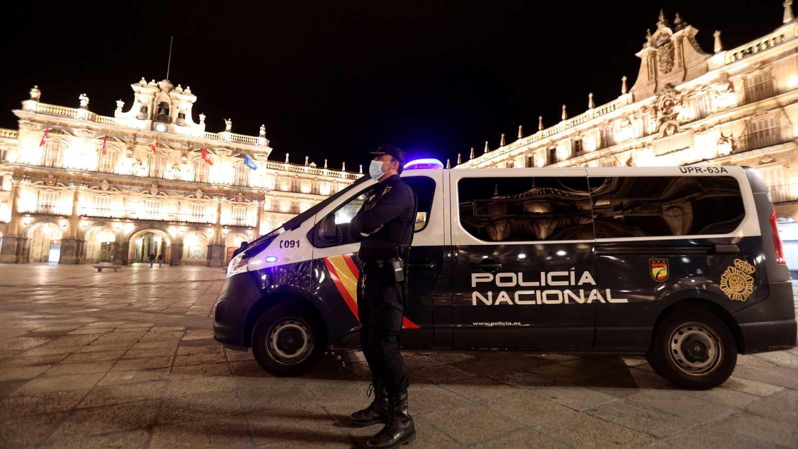 Primera noche de toque de queda en Castilla y León y la Comunidad Valenciana