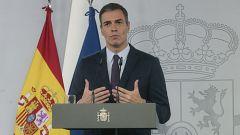 """Sánchez: """"Nuestra propuesta será extender el estado de alarma durante seis meses"""""""