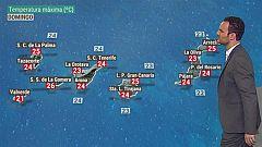 El tiempo de Canarias - 25/10/2020