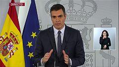 Especial informativo - Comparecencia del presidente del gobierno, Pedro Sánchez - 25/10/20