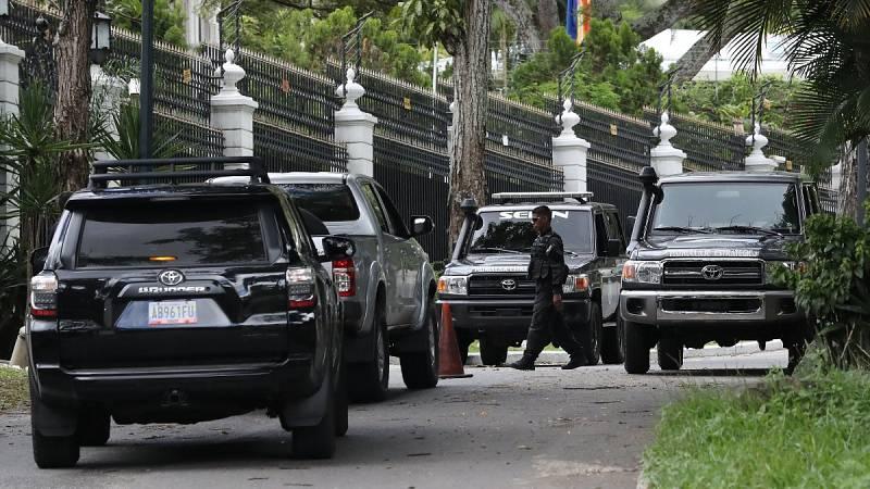 Detenidas dos personas en Venezuela por la llegada de Leopoldo López a Madrid