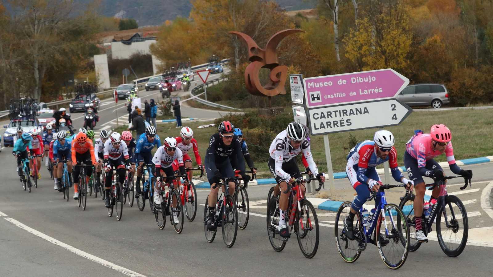 Vuelta ciclista a España 2020 - 6ª etapa: Biescas - Sallent de Gállego-Aramón Formigal (Podium) - ver ahora