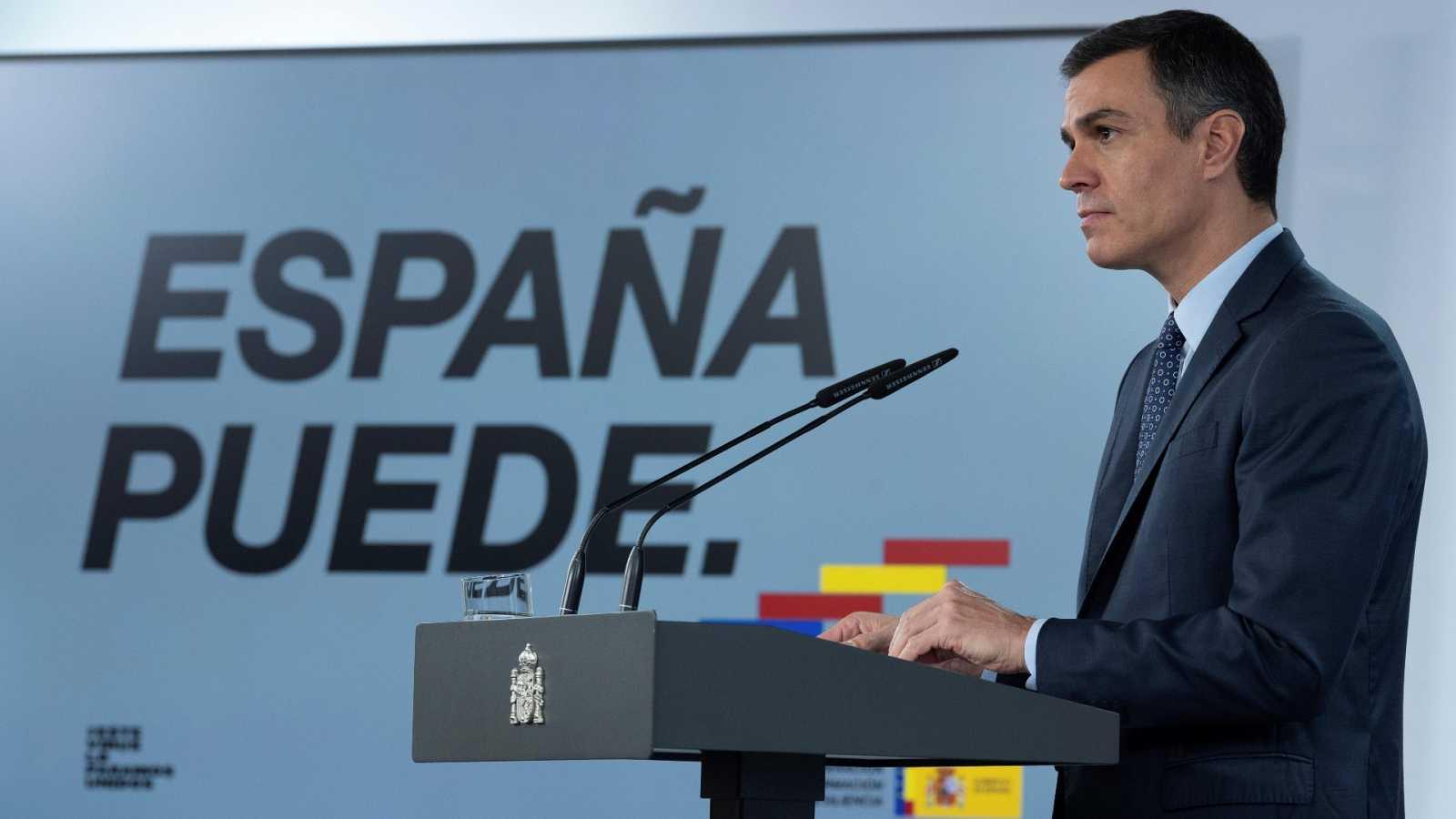 Sánchez aprueba un nuevo estado de alarma que quiere alargar hasta el 9 de  mayo