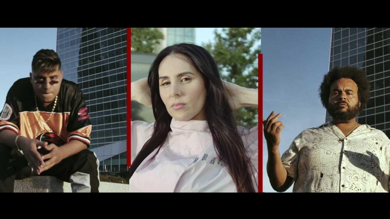 Carlos Jean, Mala Rodríguez, Dollar Selmouni y Carolina Yuste, protagonistas del single odicial de 'Hasta el cielo'