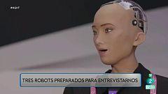 Robots que hacen entrevistas de trabajo