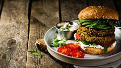 ¿Son saludables las hamburguesas vegetales?