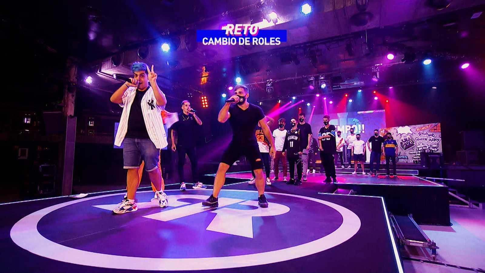 'Réplica: la nueva era del freestyle 2', la final   Cambio de roles: Errecé VS Force