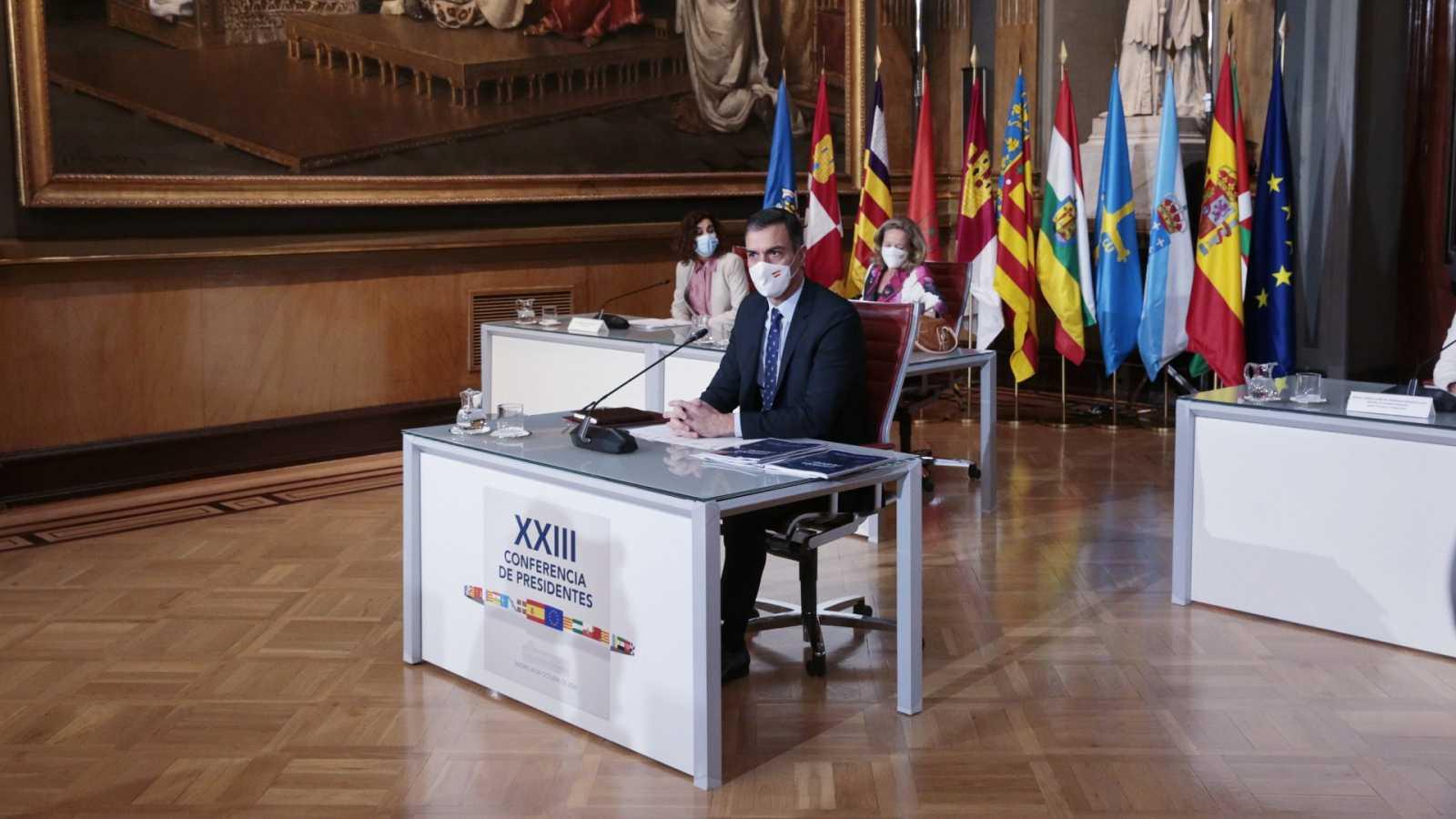 Los presidentes autonómicos piden un reparto equitativo y justo de los fondos europeos