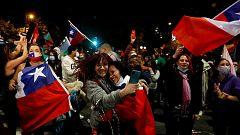 Chile celebra el triunfo del sí en el referéndum sobre la nueva Constitución