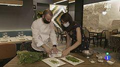Cocina de aprovechamiento: borrajas en tempura de borraja