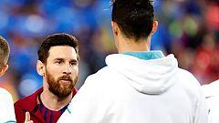 El duelo Messi-Cristiano, pendiente de la prueba de coronavirus al portugués