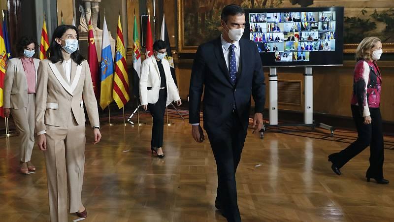 La Conferencia de Presidentes, marcada por los fondos europeos