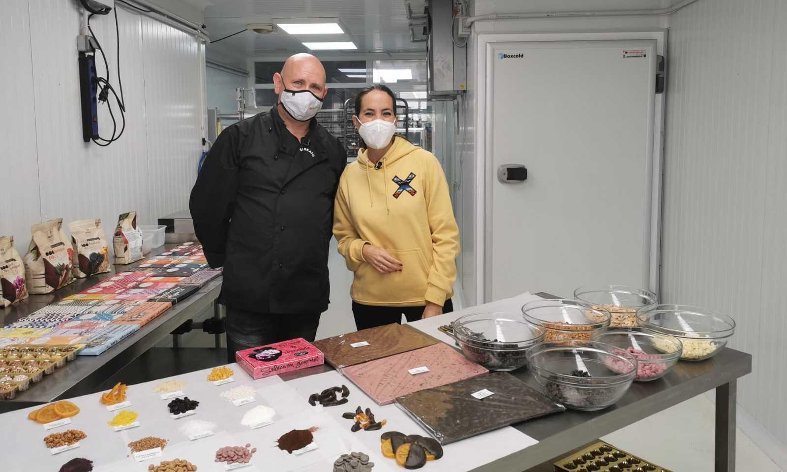 Aquí la Tierra - ¡Una chocolatería con más de 100 sabores diferentes de chocolate!