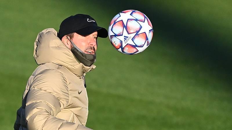 """Simeone: """"Luis Suárez está demostrando que quiere estar aquí"""""""