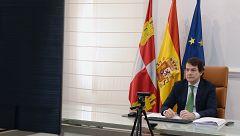 """Fernández Mañueco considera """"imprescindible"""" el estado de alarma en Castilla y León, aunque juzga de """"excesivos"""" seis meses de prórroga"""