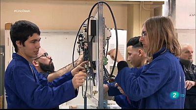 Cinc dies a l'Escola del Treball de Barcelona mostra el centre de formació professional més gran d'Espanya