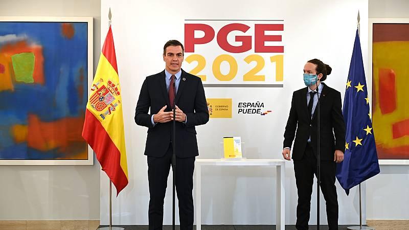 Iglesias anuncia un acuerdo para aumentar el impuesto de sociedades y del IRPF para rentas de más de 300.000 euros