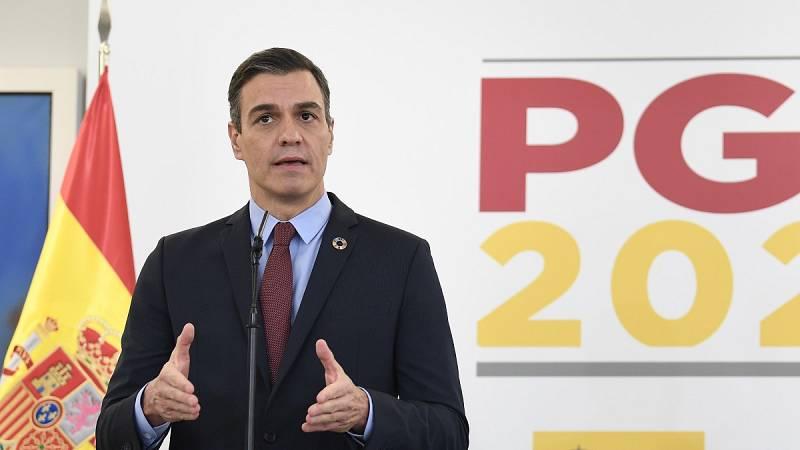 """Sánchez presenta unos Presupuestos con """"la mayor inversión pública social de nuestra historia"""""""