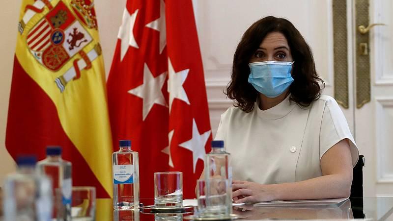 Ayuso decidirá entre hoy y mañana si cierra Madrid