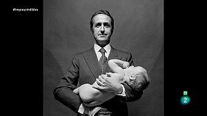 Schommer fotografió a López Bravo con un bebé desnudo