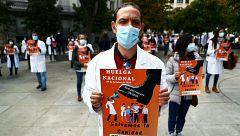 La medicina española, en huelga