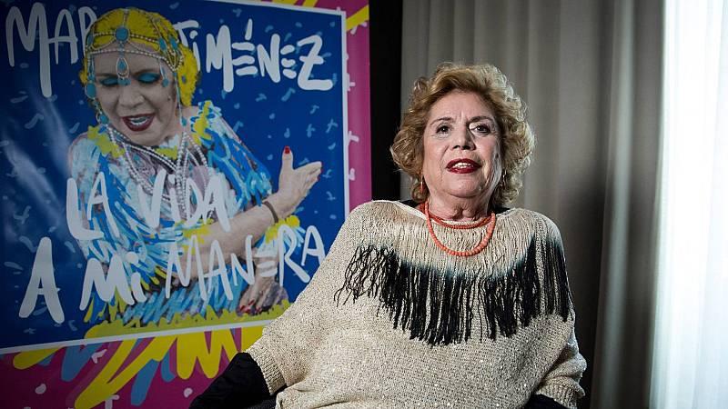 'La vida a mi manera', el primer disco de estudio de María Jiménez desde 2006