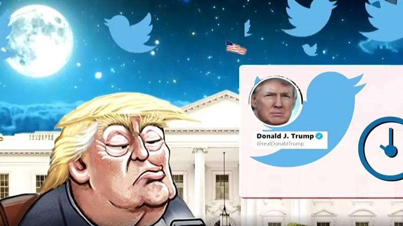 Trump, cuatro años de mandato a golpe de tuit