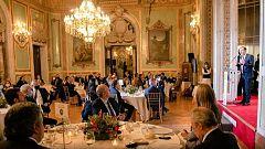 Polémica en redes por una gala a la que asistieron líderes políticos sin mascarilla ni distancia social