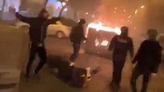 Disturbios en Sevilla tras una protesta en contra del toque de queda