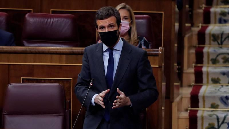 Casado ofrece 8 semanas de estado de alarma y Sánchez 4 meses revisables