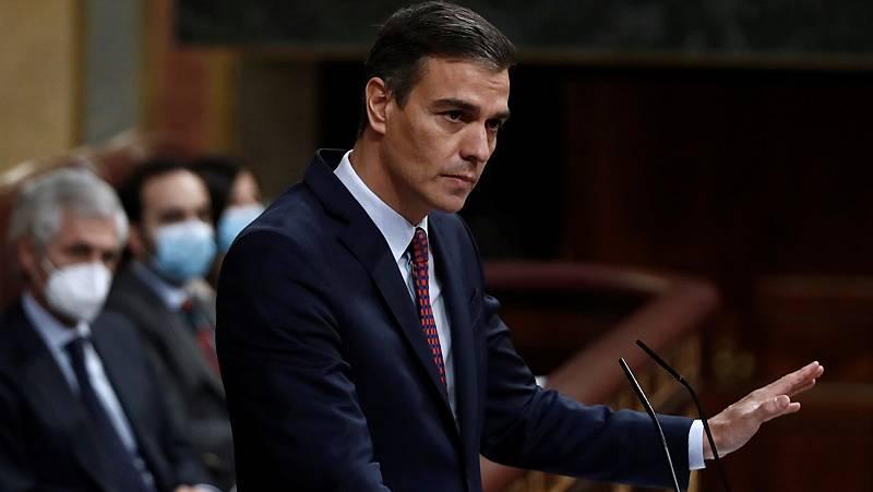 Sánchez ofrece a Casado revisar el estado de alarma en cuatro meses si la situación mejora