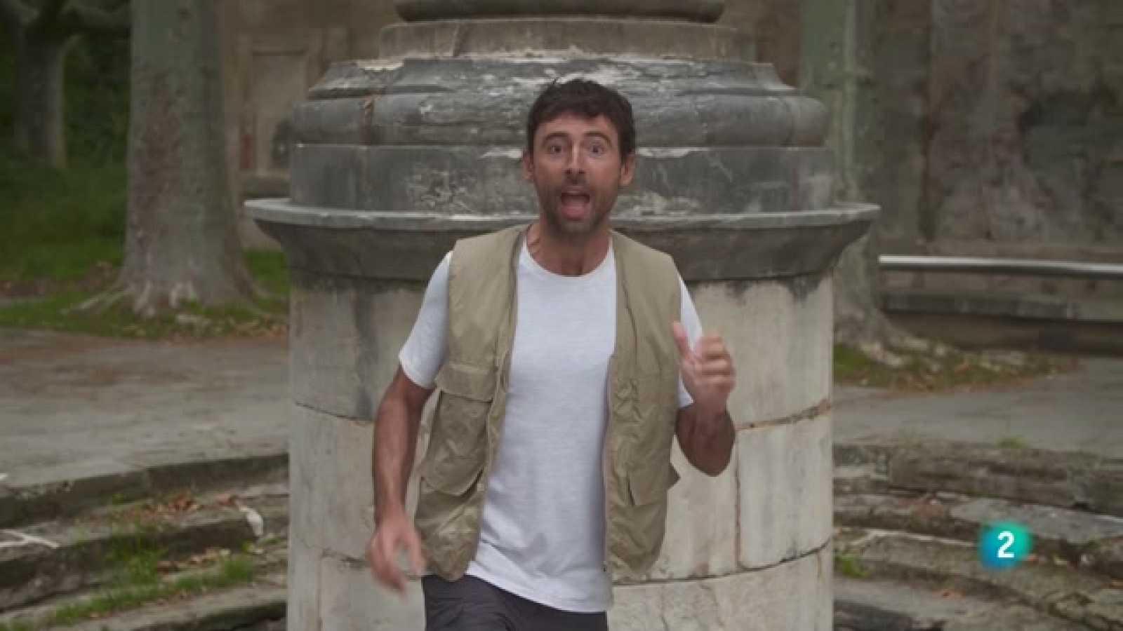 A 'Perduts en el temps' Bruno Oro descobreix Banyoles, la ciutat de l'aigua