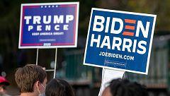 Trump protagoniza un acto electoral en Michigan mientras Biden busca conquistar Georgia