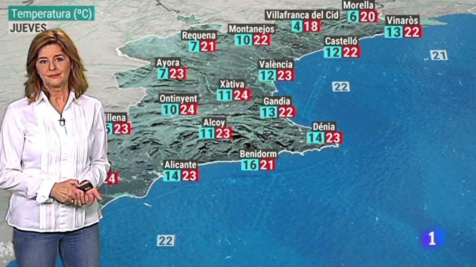 El tiempo en la Comunidad Valenciana - 28/10/20 - ver ahora