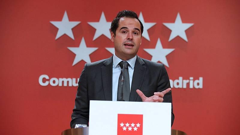 """El vicepresidente de la Comunidad de Madrid Ignacio Aguado insiste en cerrar Madrid: """"La última palabra la tiene Ayuso"""""""