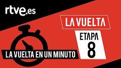 Vuelta 2020 | #LaVueltaEnUnMinuto - Etapa 8