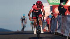 Vuelta ciclista a España 2020 - 8ª etapa: Logroño - Alto de Moncalvillo (Podium)