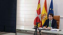 """Fernández Mañueco destaca """"la disposición de tres presidentes autonómicos"""" para coordinarse frente a la pandemia"""