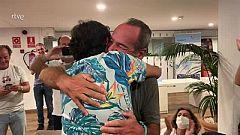 El emocionante momento en el que dos enfermos de ELA ven su gesta en TVE