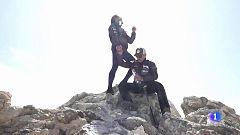 Dos enfermos de ELA hacen cumbre en el Teide