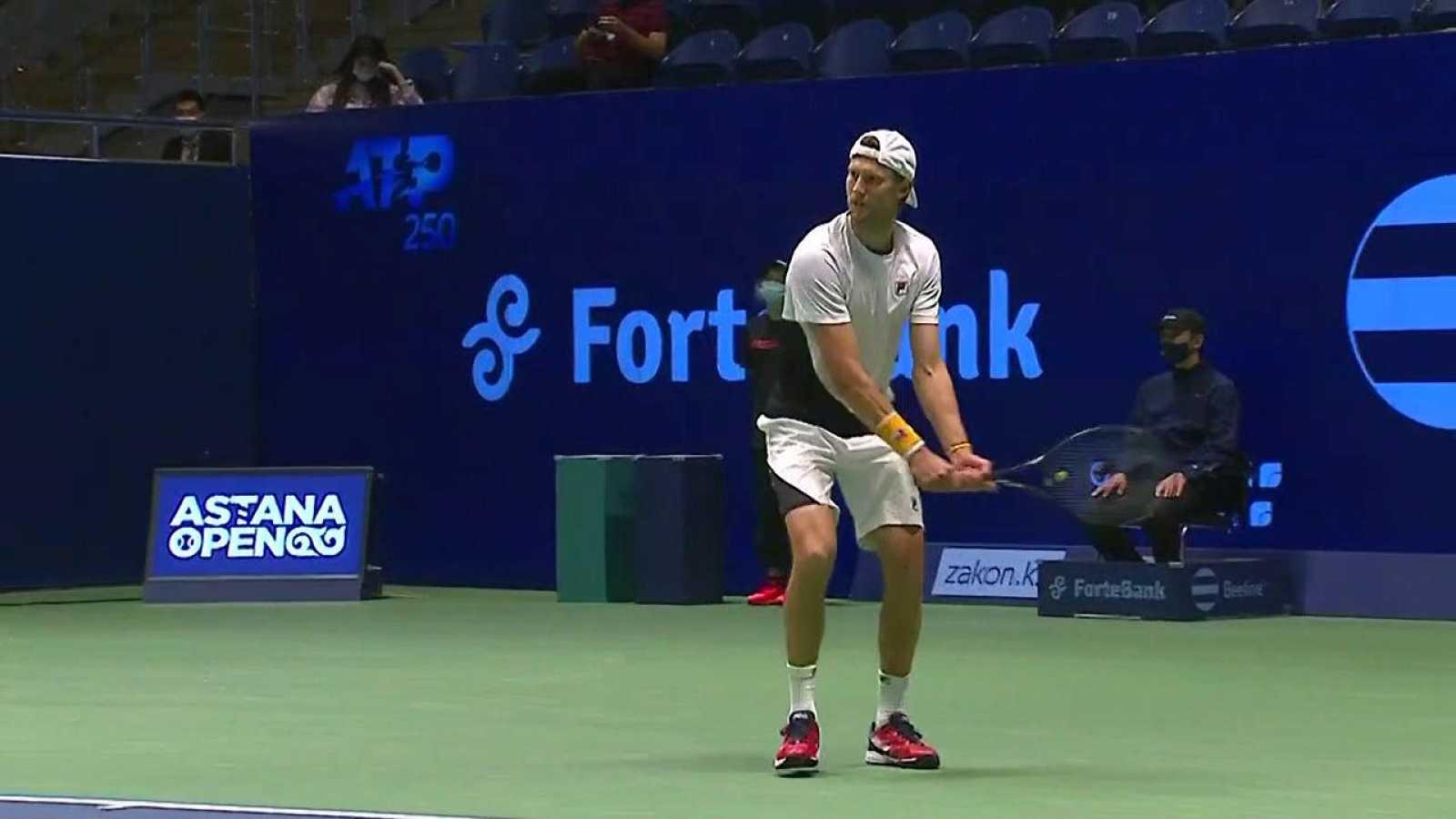 Tenis - ATP 250 Torneo Astaná: Andreas Seppi - Mackenzie McDonald - ver ahora