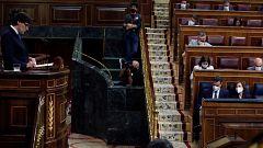 El Congreso debate el estado de alarma por seis meses entre críticas a Sánchez