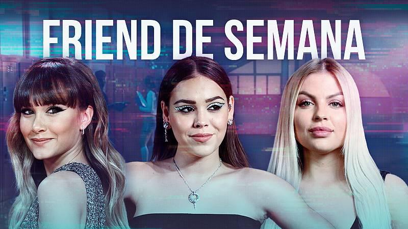 """Aitana, Danna Paola y Luísa Sonza: juntas y empoderadas en """"Friend de semana"""""""