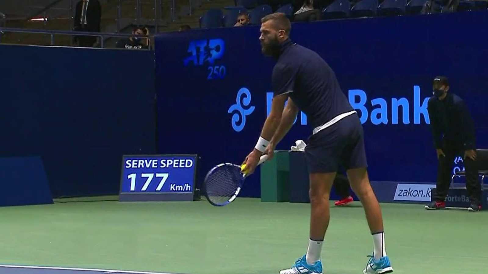 Tenis - ATP 250 Torneo Astaná: B. Paire - M. Kukushkin - ver ahora